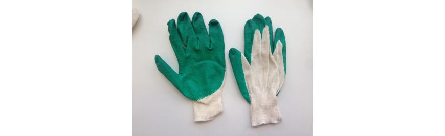 Перчатки с латексным обливом