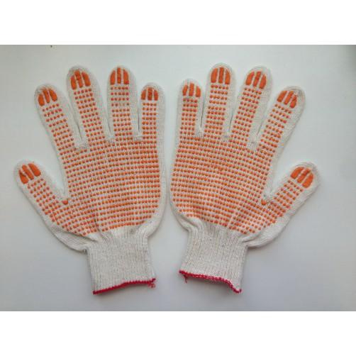 Перчатки хб Монтер с ПВХ