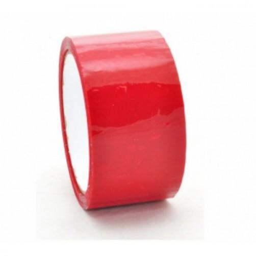 Клейкая лента, красная, 48 мм, 43 мкм, 130 пм