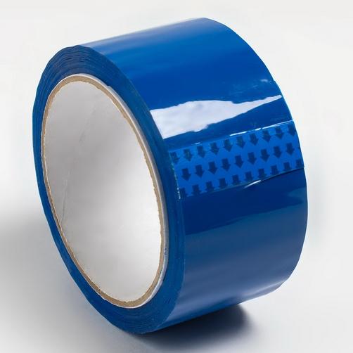 Клейкая лента, синяя, 48 мм, 43 мкм, 130 пм