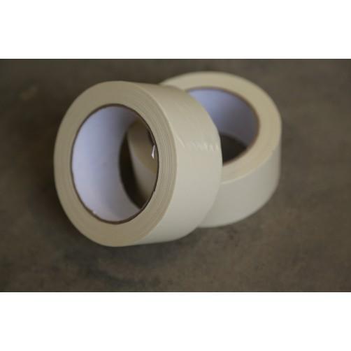 Клейкая лента, бумажная (крепп), 48 мм, 40 мкм, 50 пм