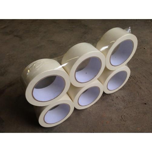 Клейкая лента, бумажная (крепп), 48 мм, 40 мкм, 100 пм