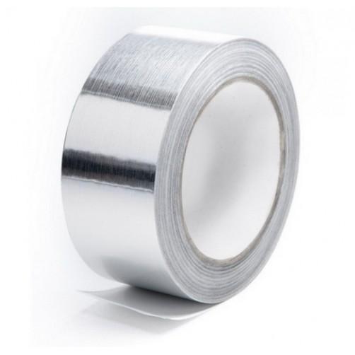 Клейкая лента алюминиевая, 48 мм, 50 пм
