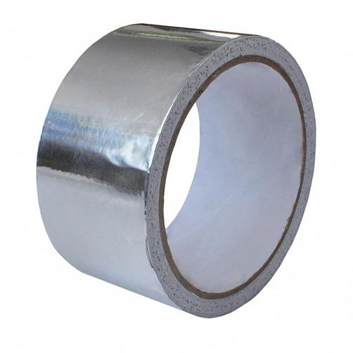 Клейкая лента алюминиевая, 100 мм, 50 пм
